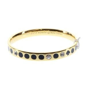 Kate Spade Black /Gold/Bracelet